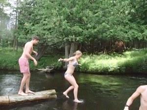 Walking on Water!