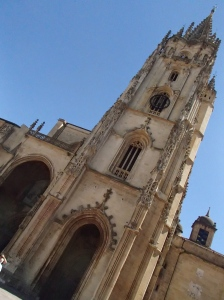 The Catedral de Oviedo.