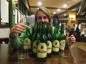 Don't worry, they are not all mine! A good night with good friends and good sidra!