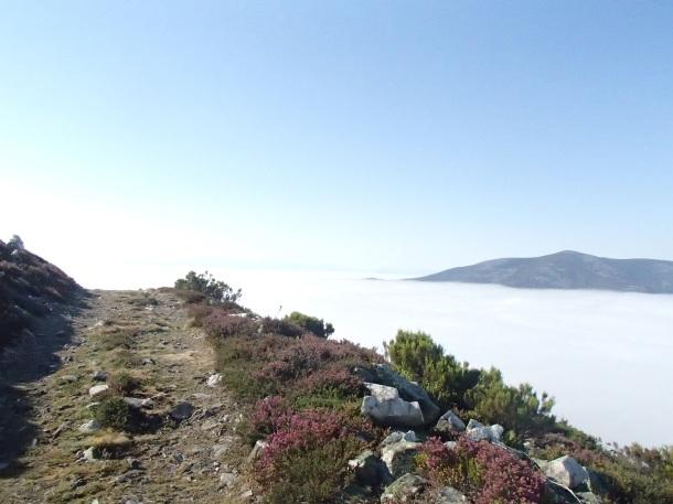 The Mountains of El Camino de Santiago Primativo