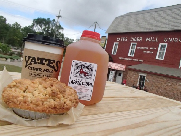 Yates Cider Mill - A Michigan, Fall thing to do.