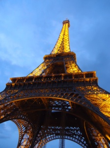 The Eiffel Tower is beautiful by day or night and has some great history behind it.