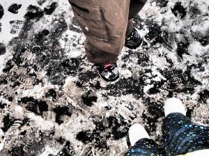 Loving my new Burton snowboarding boots