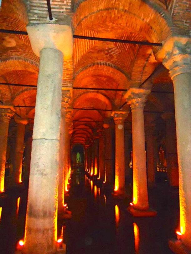 Basilica Cistern: Istanbul, Turkey