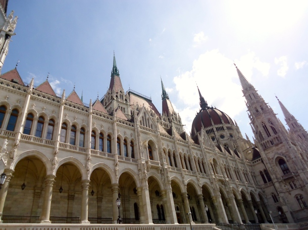 A Walk down the Danube River in Budapest, Hungary