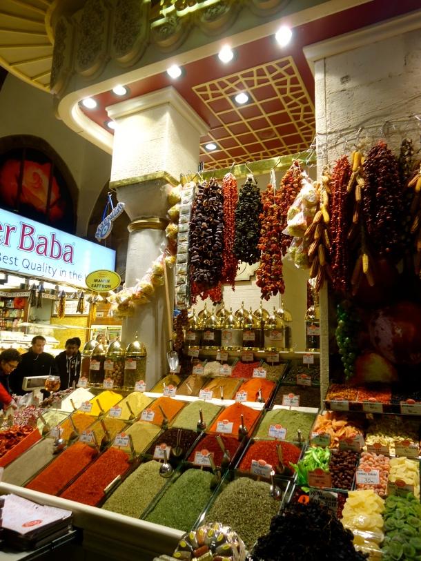 Istanbul, Turkey -- The Spice Bazar