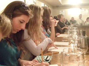 wine tasting class - learning the art of wine making and drinking