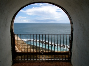 "Ocean views from ""El Morro"""