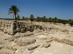 Looking over Tel Megiddo