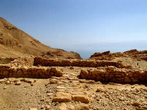 Chalcolithic temple overlooking the Dead Sea