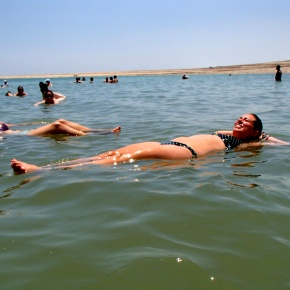 A Float in the Dead Sea
