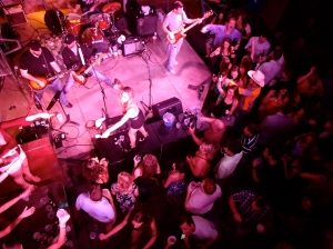 View from the second level at the Tin Roof in Nashville