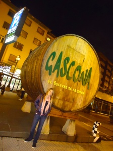 The best place to drink Sidra, Calle Gasgona, in Oviedo.