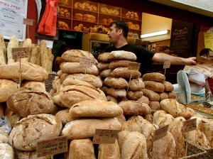 Fresh baked bread anyone? In Jerusalem.
