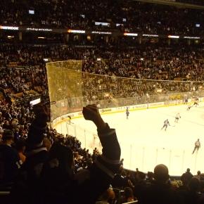 Spontaneous Idea to go to a Toronto Maple LeafsGame